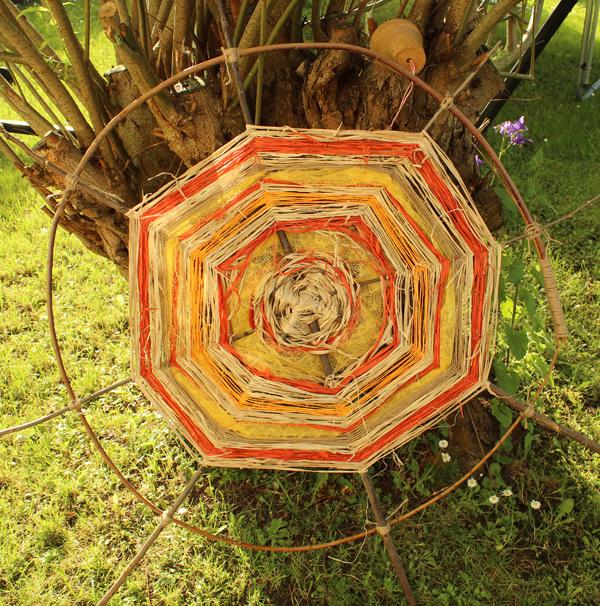 Sonnenrad for Einfache gartendeko