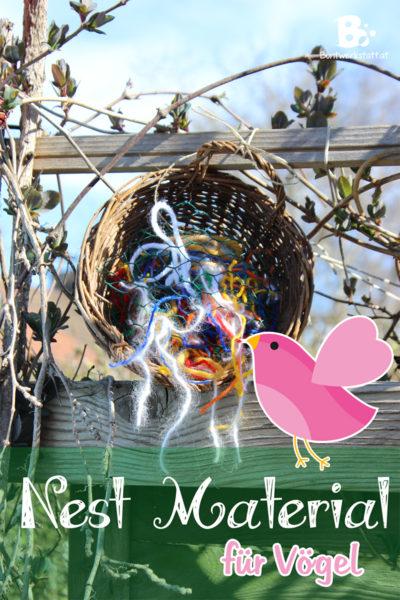 Nestmaterial für Vögel – Wollspender