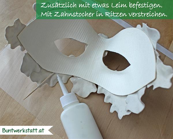 Green Man Maske Anleitung - selber machen
