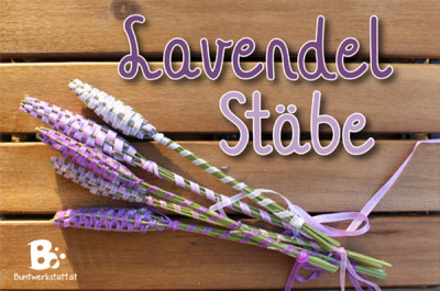 Lavendel Stäbe