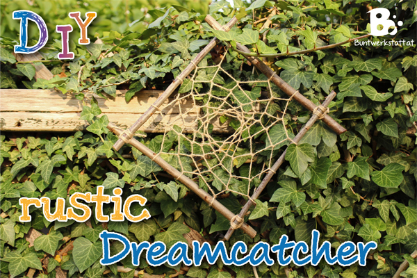 Rustic dreamcatcher tutorial colorful crafts - Hemp rope craft ideas an authentic rustic feel ...
