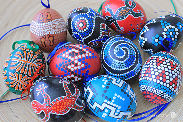 Eier Aboriginal Those Are One Of My Favorite Eggs I Ever Painted
