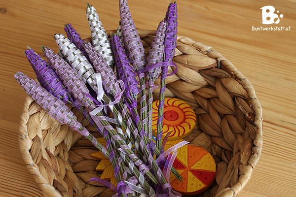 Zeit für Lavendel Stäbe