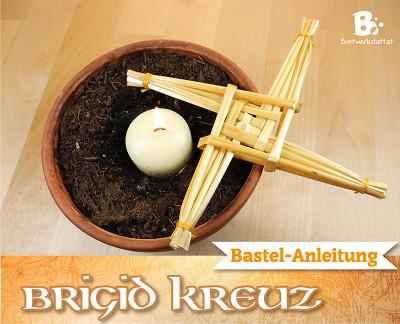 Brigid Kreuz Anleitung – Strohkreuz