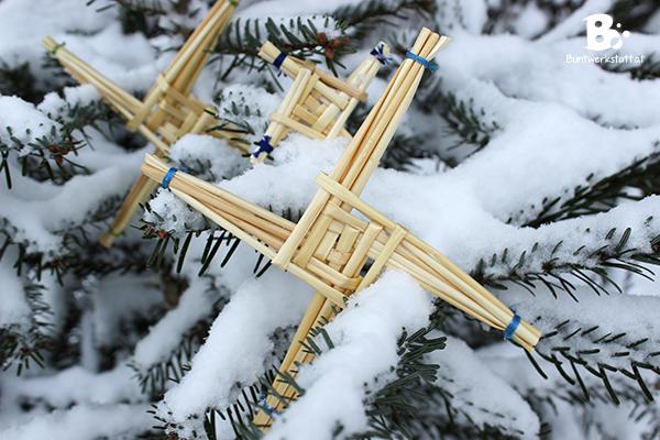 Brigid Kreuz Schnee
