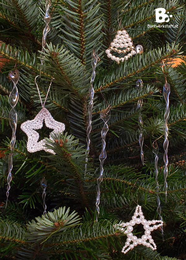 Eiszapfen Weihnachtsbaum