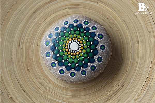 Mandala Stein Malen - Anleitung
